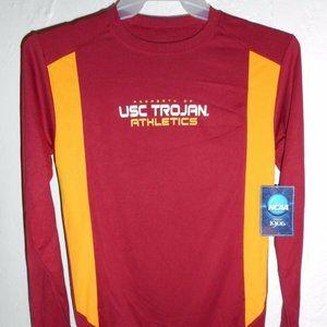 USC Trojans Long Sleeve T-Shirt Large NEW